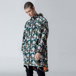Gainsboro Camo Print Hooded Jacket