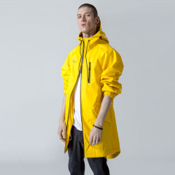 Gainsboro Hooded Rain Jacket