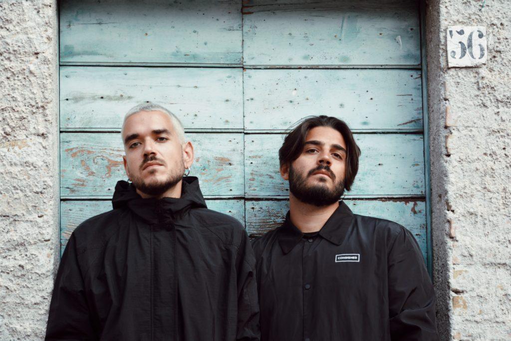 AMO AMÒ music italian pop band consigned photoshoot shoot coats coat black coat black raincoat
